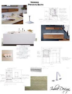 Concept Board Bathroom