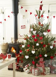 Red and white dec ideas
