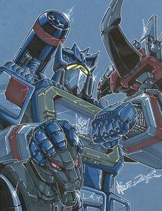 """Soundwave 02"" Transformers by http://markerguru.deviantart.com/art/soundwave-02-130344526?q=gallery%3Amarkerguru%2F6117825=3"