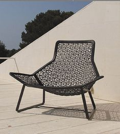 Reinterpreting traditional weaving through modern technology and material, the Kettal Maia Outdoor furniture collection has a modern geometric style. The spun aluminium framework has a light open design that...