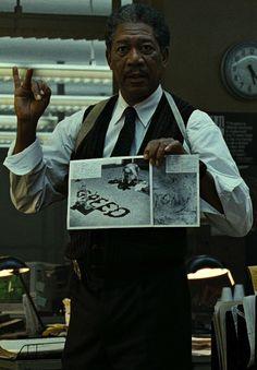 Morgan Freeman Biography Filmography Seven 90s Movies, Series Movies, Good Movies, Amazing Movies, Se7en 1995, Incredible Film, Bridesman, David Fincher, Black Actors