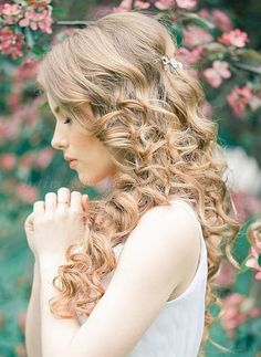 hair down wedding hairstyles, wedding hairstyles for long hair - bridal hairstyle for long hair