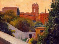 Félix Vallotton - Trinity of the Mount, 1913