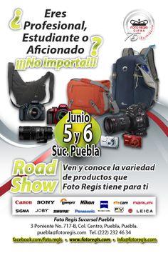 FOTO REGIS REALIZA ROAD SHOW LOWEPRO EN PUEBLA.