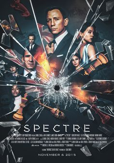 """lauraracero-portfolio: """"Alternative poster for Spectre. Digitally painted, assembled and textured in Photoshop, using promo pictures and photos from the shooting as reference. More details:. James Bond Movie Posters, James Bond Movies, Poster Series, Movie Poster Art, Art Posters, Cultura Nerd, Bond Girls, Alternative Movie Posters, Norman Rockwell"""