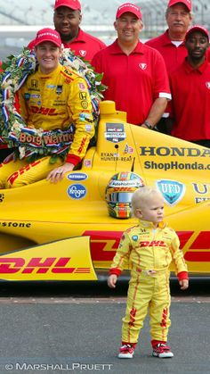 That little guy is going to win the Indy 500 in 25 years.