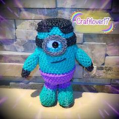 Rainbowloom Super HeroHulk Minion by @craftlover17 / My own design & pattern #official_rainbowloom #amigurumicrochet #rlamigurumi #rl3Dcreation #rainbowloomineer #madebyme #handmade #amigurumi #amigurumidoll #loomigurumi #loomigurumidoll #minion #minions #hulk #superhero #hulkminion #minionlover #superherominions #marvel #marvelminions