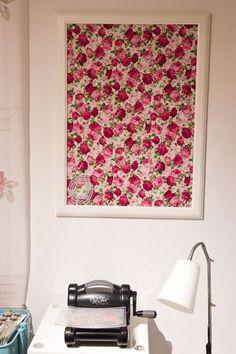 Deko Wohnung · Framelits Aufbewahrung Ikea Rahmen Mit Magnetband Und Stoff    Haengend Ikea Rahmen, Stempel Ideen,