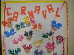 Painéis de Carnaval Kids Crafts, Diy And Crafts, Arts And Crafts, Carnival Activities, Mardi Gras, Diy For Kids, Clip Art, Techno, Education