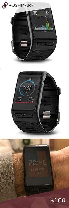 Hülle Case Silikon Fitness Smartwatch Armband schwarz für Garmin Edge 1000
