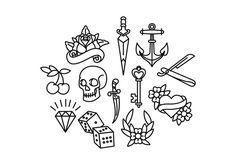 Ideas For Tattoo Old School Heart American Traditional Ink Tattoo Flash Art, Tatoo Art, Body Art Tattoos, New Tattoos, Sleeve Tattoos, Cool Tattoos, Tattoo Ink, Small Traditional Tattoo, Traditional Tattoo Old School