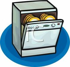 dishwasher clipart black and white. clipart dishwasher - google search black and white