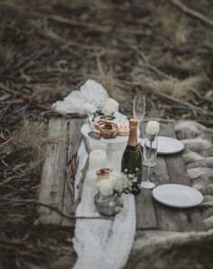 winter engagement picnic ideas