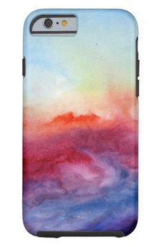 Zazzle Arpeggi Watercolor iPhone 6 Case ($64). #Stylish365