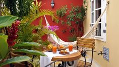 Terrace on Room Nagasaki, La Villa Bahia, Pelourinho, Salvador