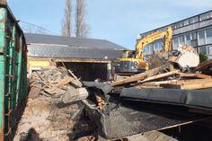 Demolition Work in Stratford, East London