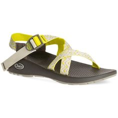 Chaco Women's Z/1 Classic Sandal ($105) ❤ liked on Polyvore featuring shoes, sandals, york neon, chaco, neon sandals, neon shoes, chaco sandals and chaco shoes