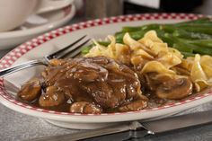 No Fuss Salisbury Steak   MrFood.com