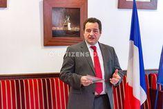 Paris : Jean-Frédéric Poisson a présenté son programme en vue de 2017 - A la une - via Citizenside France. Copyright : Christophe BONNET - Agence73Bis