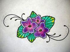 African Violet by ~LaVonneChew on deviantART