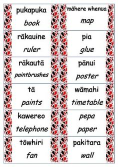 These labels were made to fit a New Zealand classroom. They have the english and Maori translation. School Resources, Teacher Resources, Maori Songs, Box Light, Waitangi Day, Maori Symbols, Classroom Labels, Classroom Ideas, Little Passports