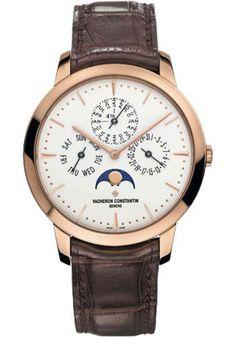 Vacheron Constantin Patrimony Contemporaine Perpetual Calendar Watch 43175/000R-9687