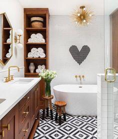 A Custom Touch Creates an Unforgettable Bathroom Design | Hunker