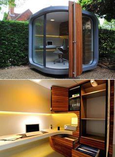15 Cool Outdoor Workspace Ideas