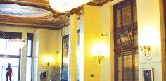Cafes In Madrid –Cafe Del Circulo De Bellas Artes. Hg2Madrid.com.