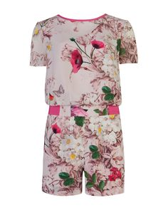 ARYANNA playsuit. When it comes to producing stunning yet sustainable fashion, Ted's a natural. #tedsnaturalkingdom http://www.tedbaker.com/latest_news/women%27s/natural_kingdom/intro.aspx