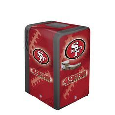 Black Friday 2014 NFL San Francisco 49ers Portable Party Refrigerator from Boelter Brands Cyber Monday