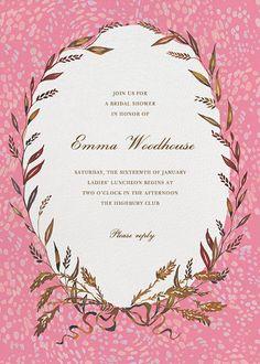 wheaten wedding shower invitationswedding