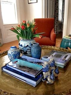 The Relished Roost: Project Design- Style Your Coffee Table!