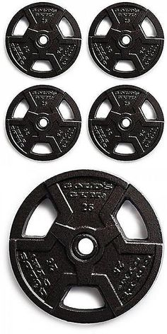 Weight Plates 179817 Standard Weight Grip Plate Pairs 1 Hole Cast Iron Home Gym Exercise Weights New -\u003e BUY IT NOW ONLY $36 on eBay!  sc 1 st  Pinterest & Weight Plates 179817: Standard Weight Grip Plate Pairs 1 Hole Cast ...