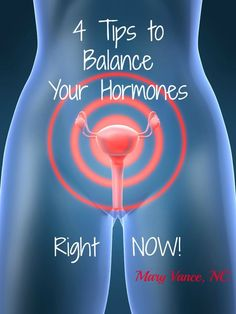4 Tips to Balance Your Hormones Right NOW - Mary Vance, NC