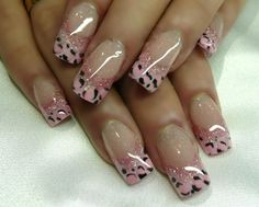 While the tips are great, I think the nails should be pinker so they stand out.  I like my prints to SCREAM.  lol