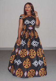 Here are some adorable and stunning ankara gowns that will make you look good for your occasions and special events, these ankara dresses come in different styles and designs. Long African Dresses, Latest African Fashion Dresses, African Print Dresses, African Print Fashion, Africa Fashion, African Dress Designs, Dress Fashion, African Prints, Fashion Outfits