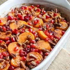 Cranberry Sweet Potato Casserole - Home. Made. Interest.