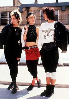 1980S, ALL LAYERING AND EXPOSING. MIXING AND MATCHING WITH BASICS.  1980s accessories - Google Search