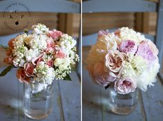 Seasons Downeast bouquets Maine wedding photography