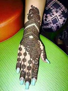 Henna Design By Fatima Dulhan Mehndi Designs, Mehandi Designs, Mehendi, Mehndi Designs Finger, Henna Hand Designs, Latest Bridal Mehndi Designs, Mehndi Designs Book, Stylish Mehndi Designs, Mehndi Designs For Girls