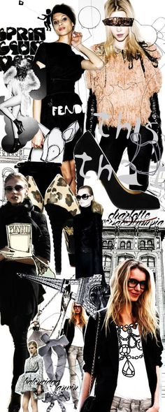 Fashion collage, wanna make something like this                                                                                                                                                     More