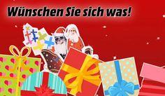 Jetzt bei Media Markt deinen persönlichen Weihnachtswunsch abgeben und mit ein wenig Glück genau diesen gewinnen. Was würdest du gerne gewinnen? Ein iPhone 7, ein MacBook Pro, einen TV oder doch lieber einen Staubsauger oder eine Küchenmaschine? https://www.alle-schweizer-wettbewerbe.ch/gewinne-deinen-persoenlichen-weihnachtswunsch/