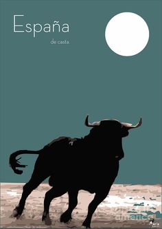 Toro Bravo Digital Art - Toro Bravo Fine Art Print http://fineartamerica.com/featured/toro-bravo-joaquin-abella-ojeda.html