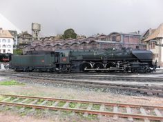 Impressive SNCF 241A loco on Philippe's fabulous French layout