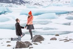 This proposal in Iceland is seriously gorgeous.
