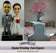 Congratulations to our beautiful bride Pascale and her groom Fady Amazing… Funny Wedding Cake Toppers, Personalized Wedding Cake Toppers, Wedding Cake Stands, Custom Cake Toppers, Custom Cakes, Wedding Cakes, Personalized Gifts, Wedding Cake Figurines, Wedding Trends