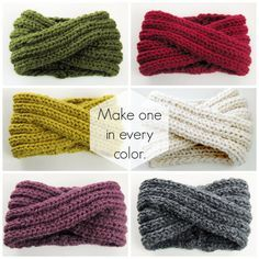 A quick, stylish one-skein project you can wear as a headband or pulled down as a cowl. This headband knitting pattern teaches you a clever