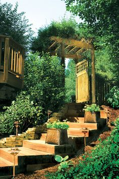 Outdoor Stairs - traditional - staircase - other metro - Atlanta Decking & Fence Co., Inc.