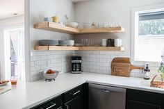 Gorgeous low budget modern kitchen makeover on Petite Modern Life                                                                                                                                                                                 More